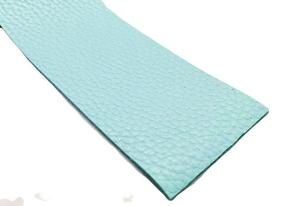 Leather Strip - Pale Blue 2mm