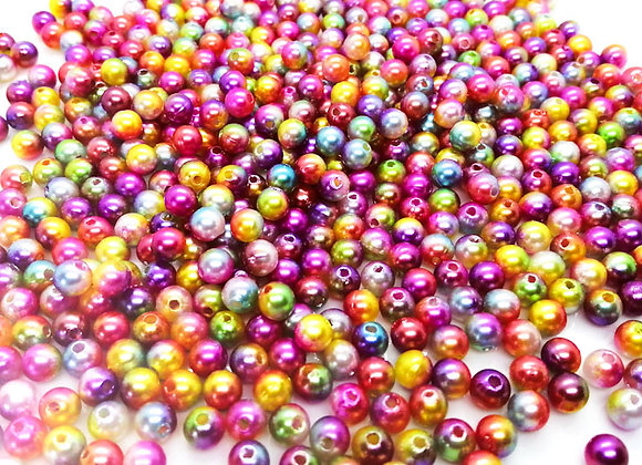 Mini Rainbow Bead Mix Pack of 150