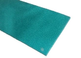 Italian Leather Strip - Turquoise Rustic 2mm