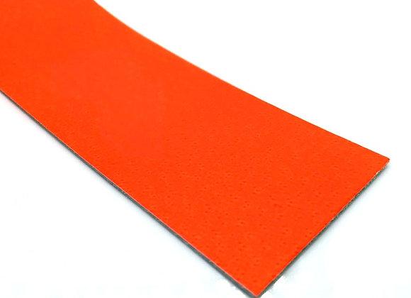 Leather Strip - Neon Orange 1mm