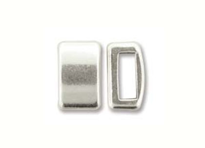 Silver Slider Bead - 5mm Hole