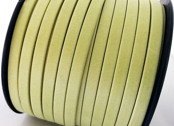Lime Flat Leather 5mm