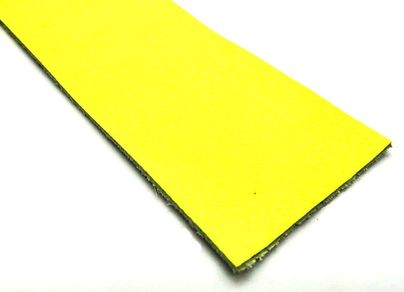 Leather Strip - Neon Yellow 1.8mm