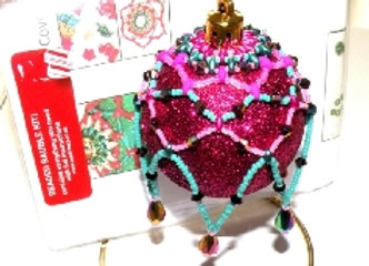 Christmas Beaded Bauble Kit