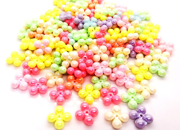 Cute Acrylic Spacer Beads Pack of 50
