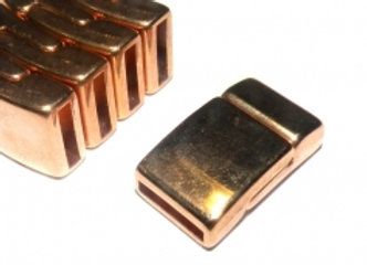 Rose Gold Magnetic Clasp - 10mm Hole