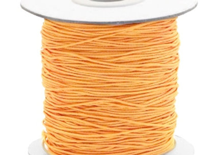 Elastic Cord 0.8mm - Sunflower Orange