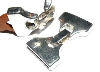 20x2mm Glue In End Clasp