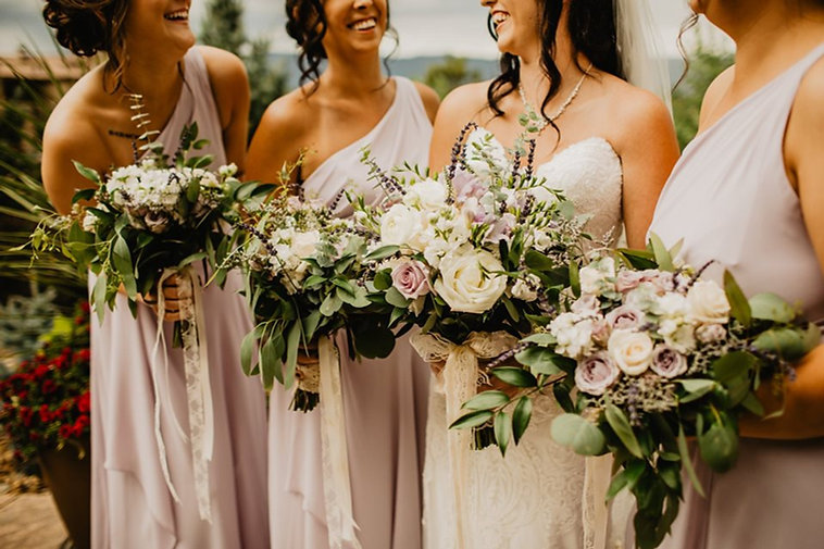 Mauve wedding palette