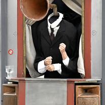 Kashcaval-Marionnette du président
