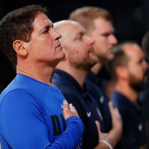 Mark Cuban ditches the national anthem for the Mavericks