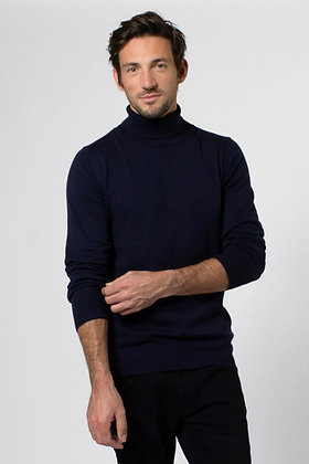 THOMAS TURTLE NECK NAVY