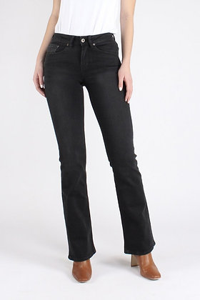 Amy bootcut -black faded
