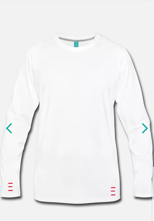 "Long Sleeve Athletic ""TANDEM"" Shirt"