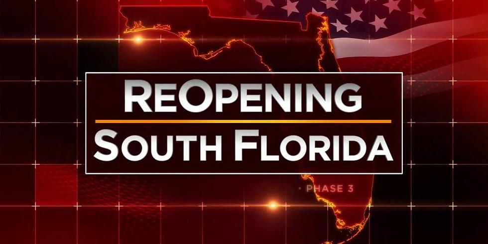 Reopening  Broward County
