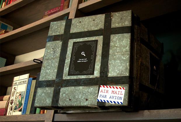 A mysterious tin box