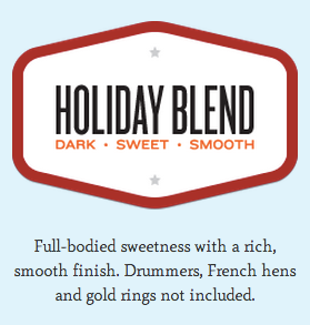 Goshen Coffee Holiday Blend description