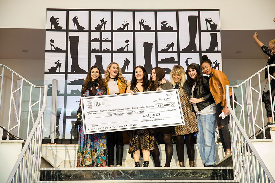 Photo of the Caleres Fashion Entrepreneur Competition winners by Alan Wang for Alive Magazine