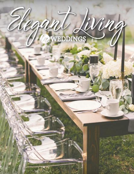 Ladue News Elegant Living Weddings 2018 cover
