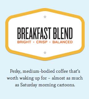 Goshen Coffee Breakfast Blend description