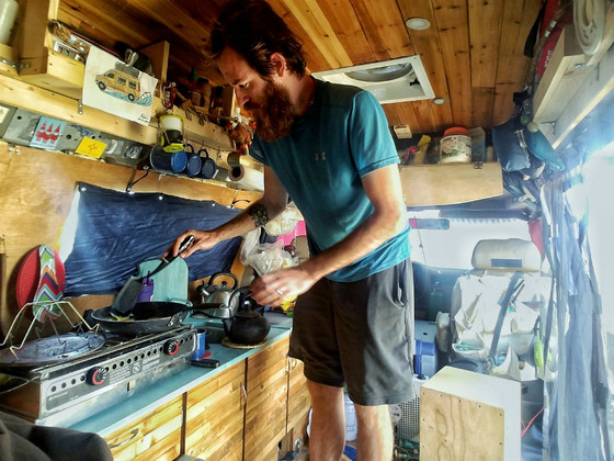 Affton Residents Who Gave Up Their House for a Van Are Cooking Up Road Recipes (Riverfront Times)