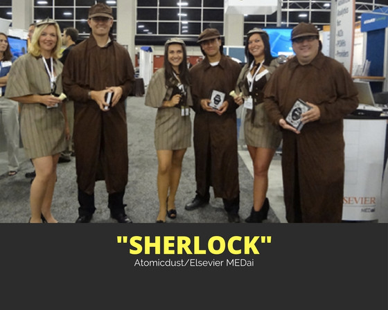 'Sherlock' MEDai Navigator Trade Show Materials (Elsevier)