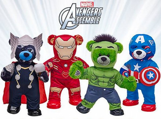 Avengers Disassemble: Parents Furious There's No Black Widow Bear at Build-a-Bear (Riverfront Ti