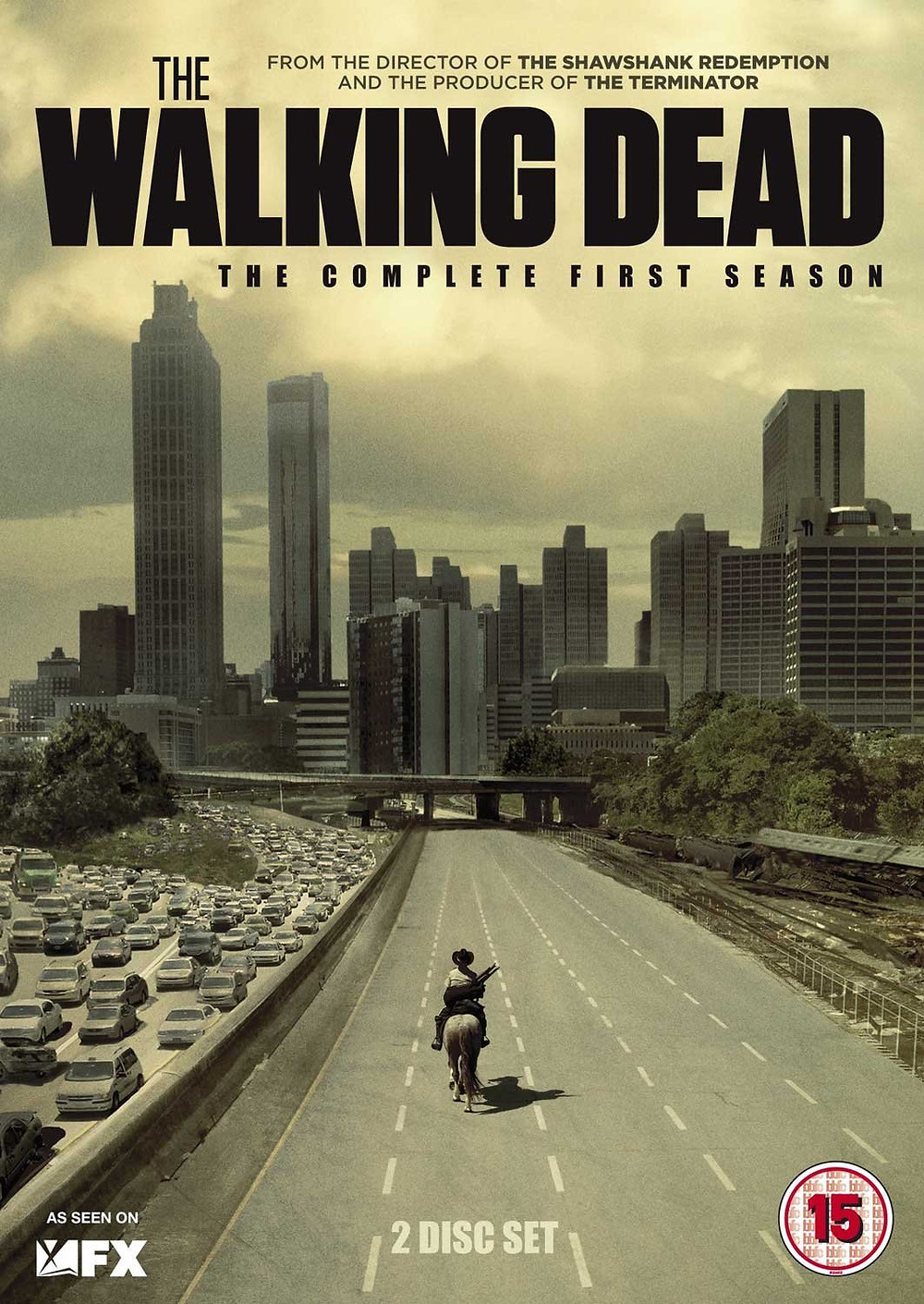 Cover of the Walking Dead season one DVD set