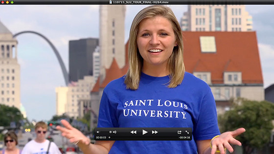 'Be Here' St. Louis Tour Video (Saint Louis University)