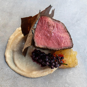 Abstract Table Venison