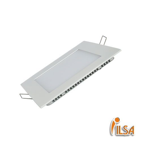 Panel LED 12W cuadrado (incrustar)