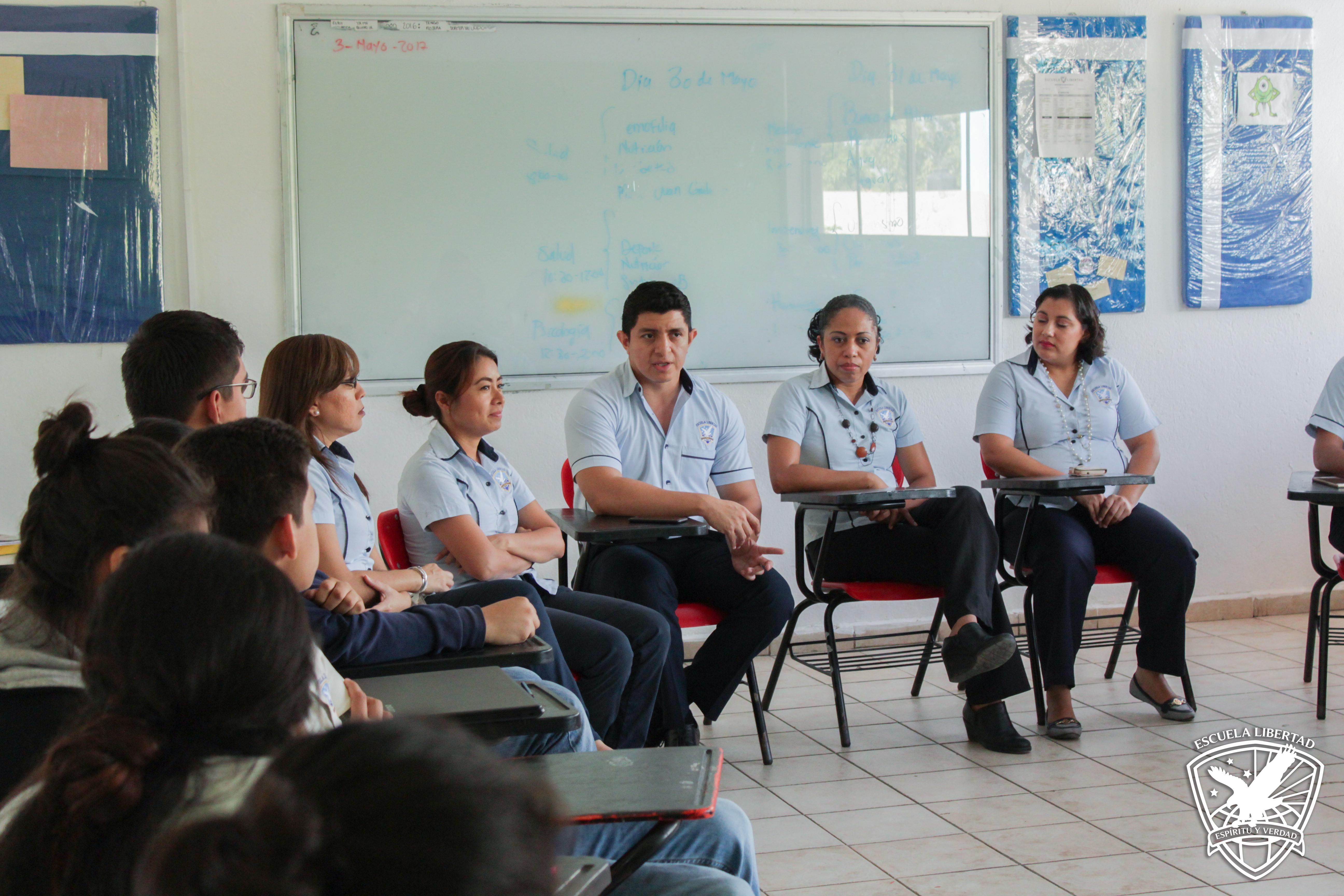 Despedida alumnos de bachillerato