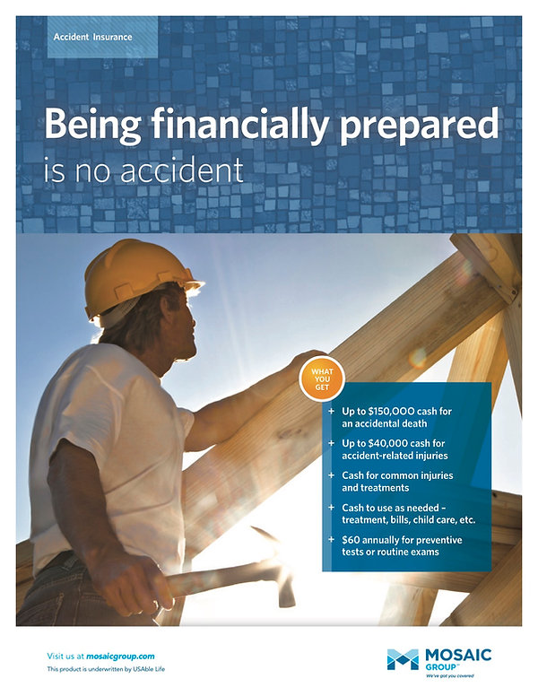 Accidents can happen, be prepared to face the financial implications with great accident insurance