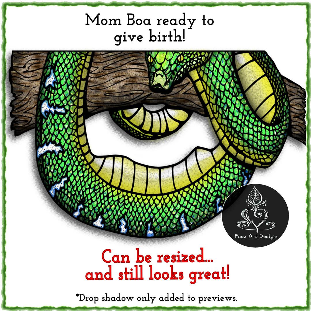 Snake Births Clip Art Bundle {PaezArtDesign}