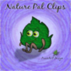 Nature Pal Illustrations | PaezArtDesign ClipArt Graphics | DigitalArt | Green Leaf #01