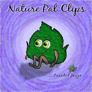 Nature Pal Illustrations | PaezArtDesign ClipArt Graphics | DigitalArt | Green Leaf #01
