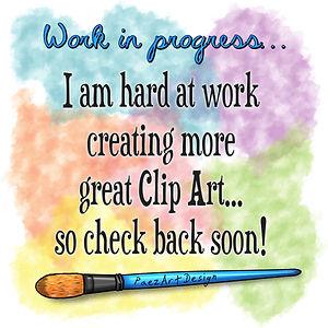 Work in progress | More Digital Art to Come | PaezArtDesign Clip Art & Digital Graphics