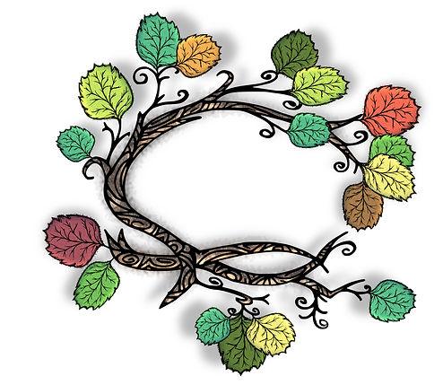 Nature Clip Art Images | Branch Graphics | PaezArtDesign Digital Art