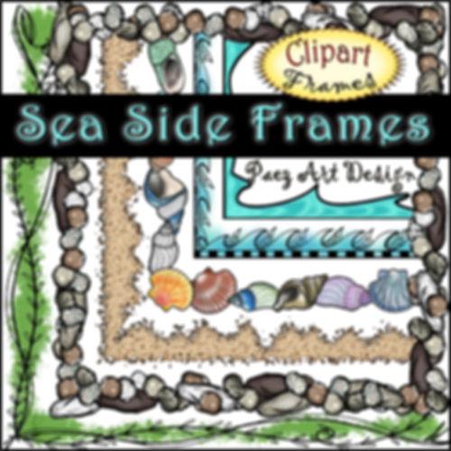 Sea Side Digital Frames {PaezArtDesign}