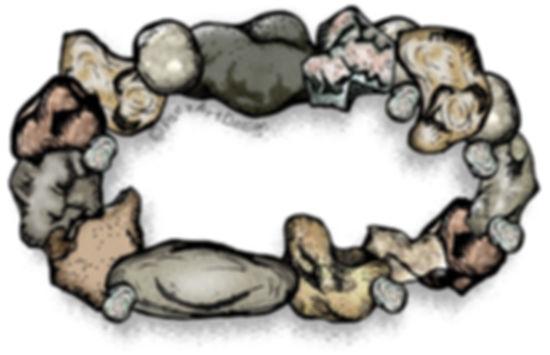 Fire Clip Art Images | Science Graphics | Educational | Rocks, Fire Pits, Stone | PaezArtDesign Digital Art