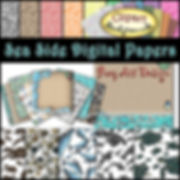 Sea Side Digital Papers {PaezArtDesign}