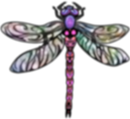 Dragonfly Clip Art Images | Insect Digital Art | PaezArtDesign Graphics