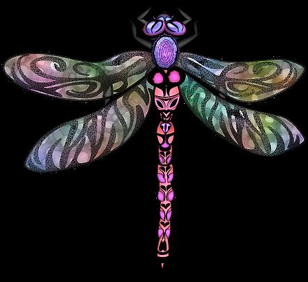 Dragonfly Clip Art Images | Insect Digital Art | PaezArtDesign Graphics