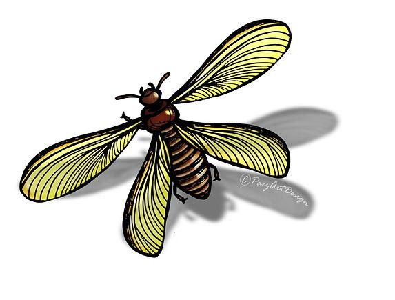 Prehistoric Era Clip Art Images | Food: Termites | History & Science Graphics | PaezArtDesign Digital Arts
