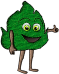 PAD_CLIPART_NATURE_PAL_leaf_01_thumbs_up