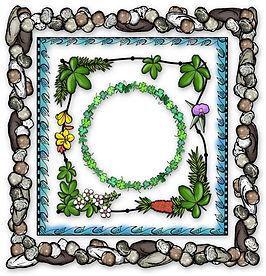 PaezArtDesgn Clip Art Illustrations | Frames & Borders | Digital Art Graphics