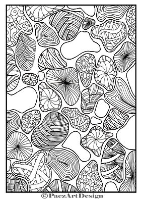 PaezArtDesign Cheetah Coloring Page. Sample. Digital Art