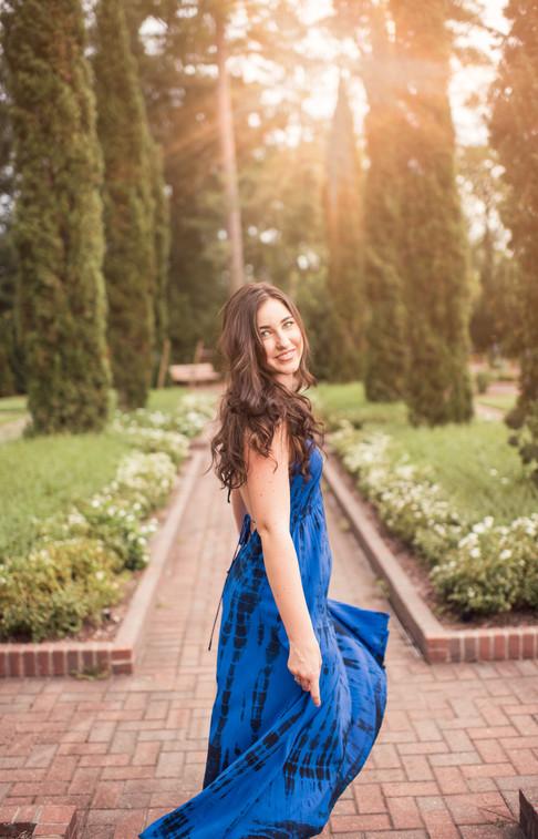 senior HS portrait