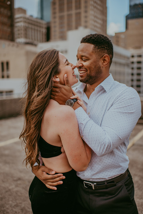 Couple Holding Each Other
