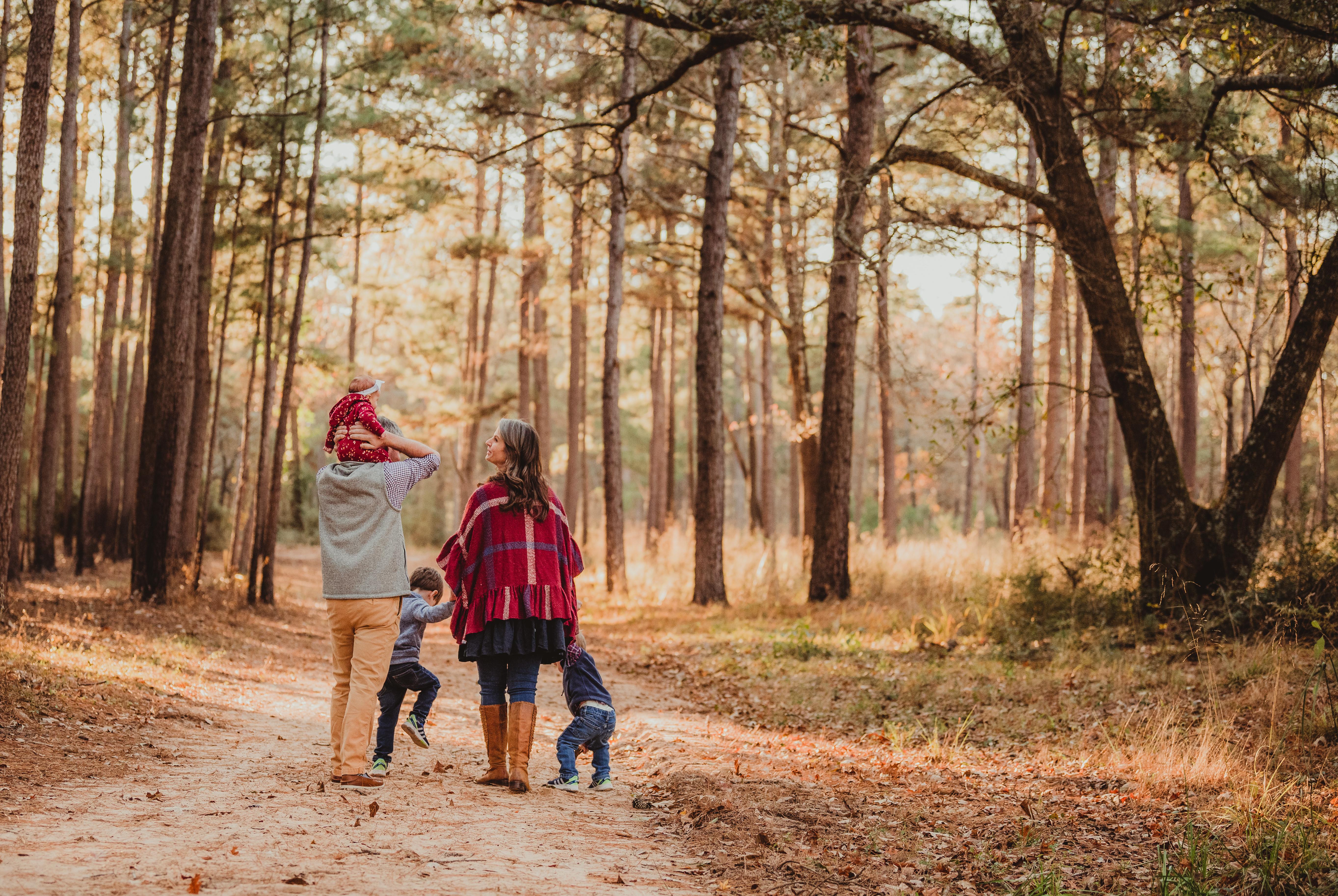 A Fall Forest Fairytale